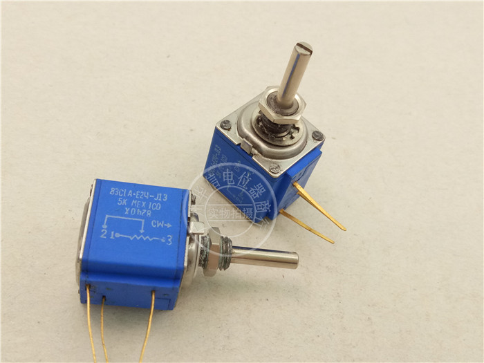 Original new 100% Mexico import 83CIA-E24-J13 5K 10 cycle multi ring potentiometer (SWITCH) кроссовки onitsuka tiger кроссовки mexico 66 knit