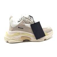 Male casual shoes unisex triple S sneakers balencia triumph street race runner dad chunky shoes balanciaga triple s shoes