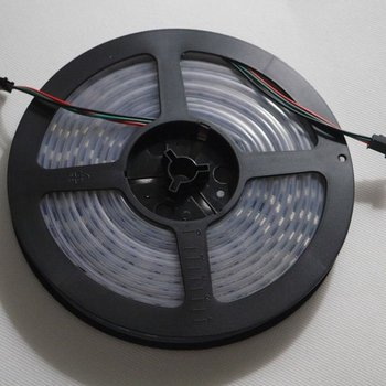 4M Dream color waterproof 60LED/M WS2812 IC chip 5050SMD 5V RGB Addressable LED Strip pixel LAMP LIGHT