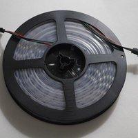 4M Dream color waterproof 60LED/M WS2812 IC chip 5050SMD 5V RGB Addressable LED Strip pixel LAMP LIGHT