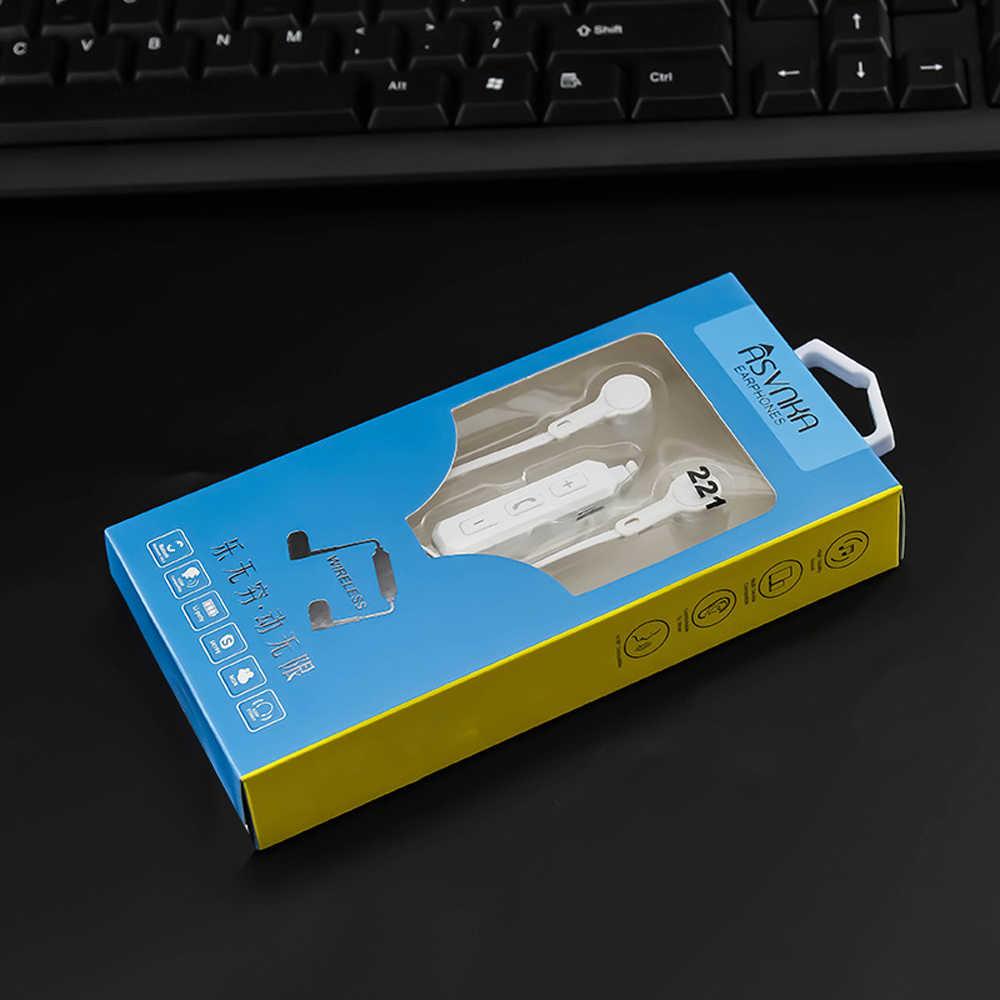 Qijiagu bezprzewodowy zestaw słuchawkowy Bluetooth słuchawki stereo z redukcją szumów z mikrofonem sportowe zestawy słuchawkowe Bluetooth różowe złoto