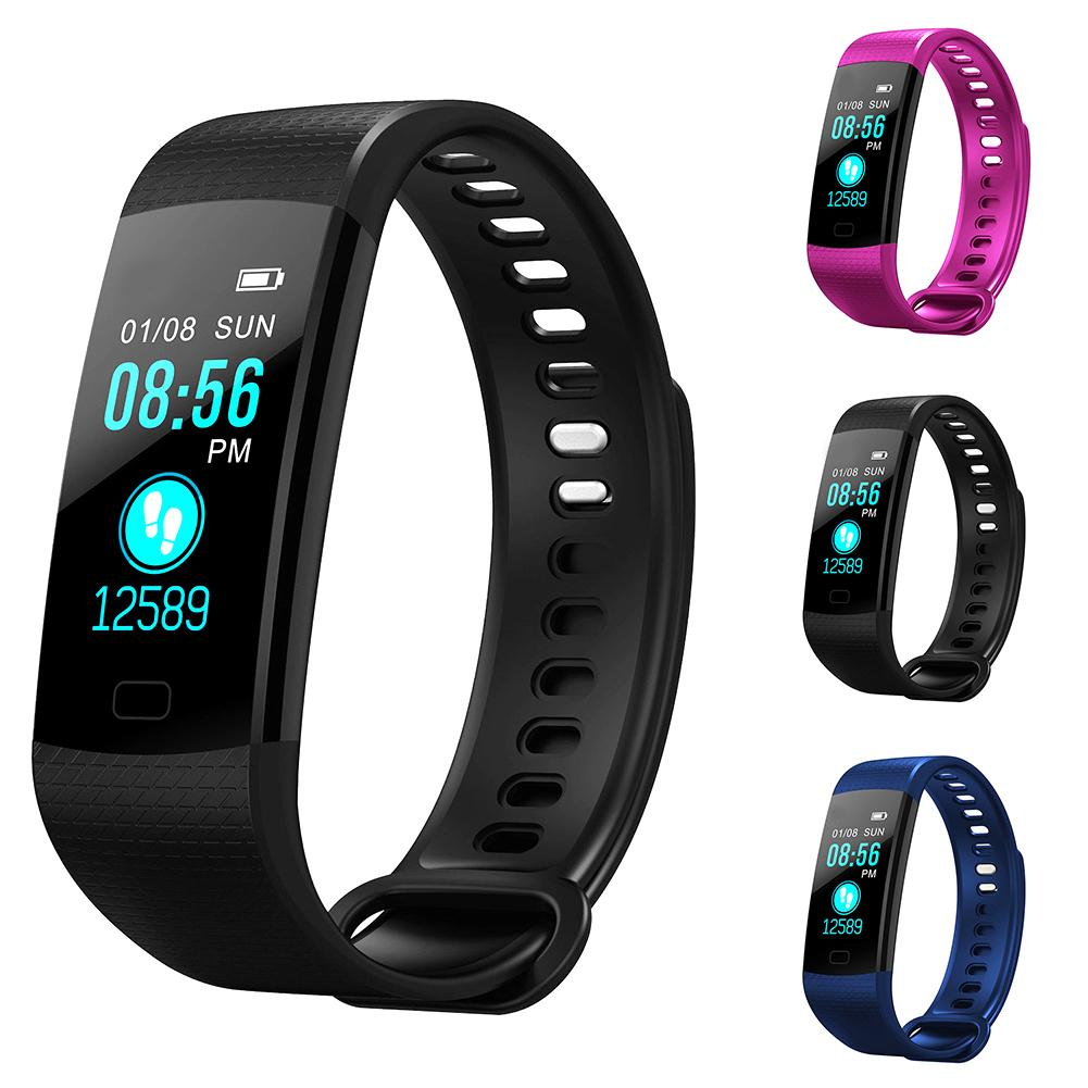 IPS Colorful Wristband Heart Rate Blood Pressure Monitor Smart BraceletIPS Colorful Wristband Heart Rate Blood Pressure Monitor Smart Bracelet