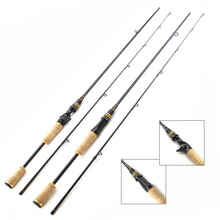 цены NEW High Quality 1.8m Spinning Rod carbon Casting Fishing rod M Action Travel Rod Lure Weight 7-25g line 5-25lb lure fishing