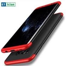 Etician для Samsung Galaxy S8 случае Роскошные ультра тонкий жесткий пластиковый flull задняя крышка для Samsung Galaxy S8 плюс 7 Edge Чехлы