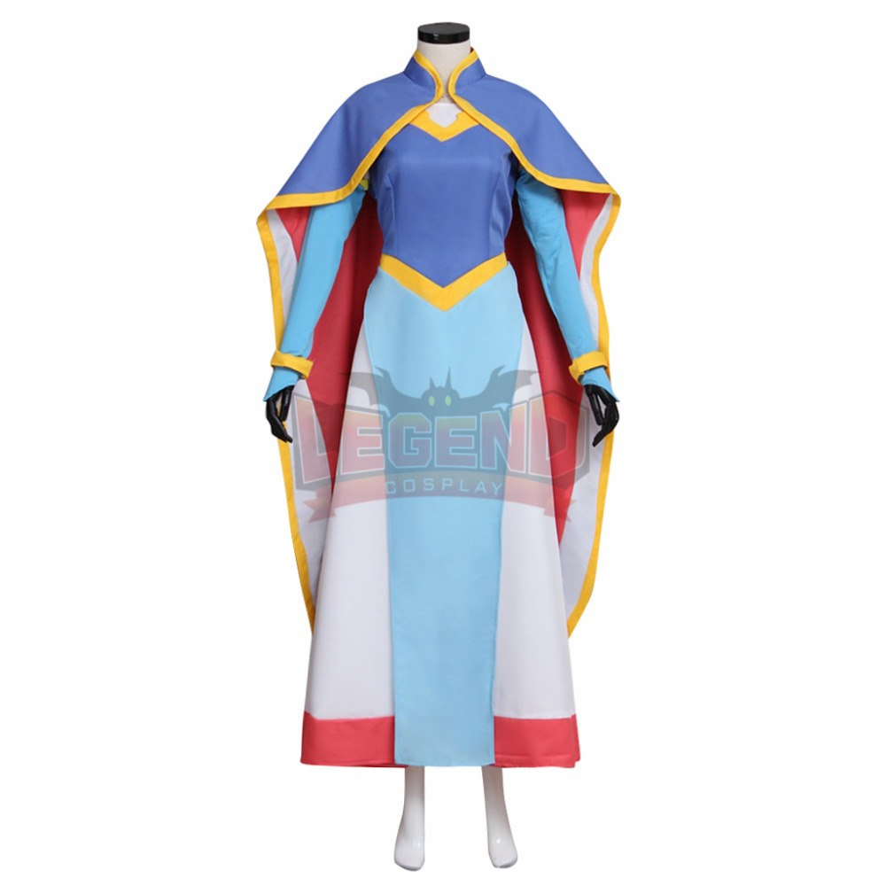 Cosplay legend Voltron:Legendary Defender Princess Allura Cosplay Costume Suit All Size