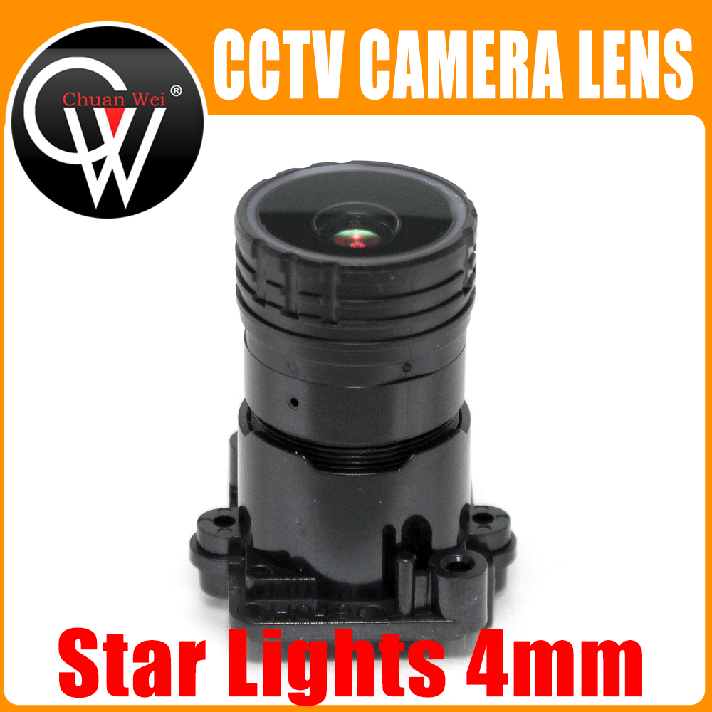 Star Lights F0.95 4mm M16 Focal Lens 2MP 1/2.7 special for image sensor IMX327 , IMX307 , IMX290 , IMX291 camera Board Module image
