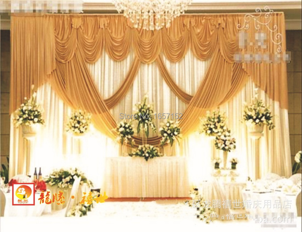 High grade stage background wedding backdrop stage curtain backdrop high grade stage background wedding backdrop stage curtain backdrop for wedding decoration 10ft20ft luxurious wedding backdrop in party backdrops from home junglespirit Gallery
