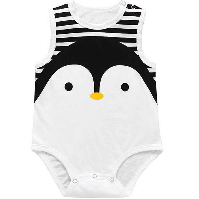 2019 New Baby Clothing Baby Rompers Cotton Cartoon Little Animal Sleeveless Stripe Baby Jumpsuits Toddle Boy Girl Summer Clothes2019 New Baby Clothing Baby Rompers Cotton Cartoon Little Animal Sleeveless Stripe Baby Jumpsuits Toddle Boy Girl Summer Clothes
