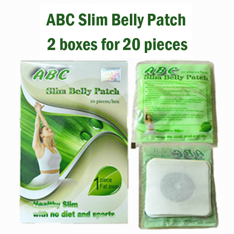 Diet Lose Weight Fastest: (2 Boxes Supply) ABC Slimming Belly Patch Magnetic Diet