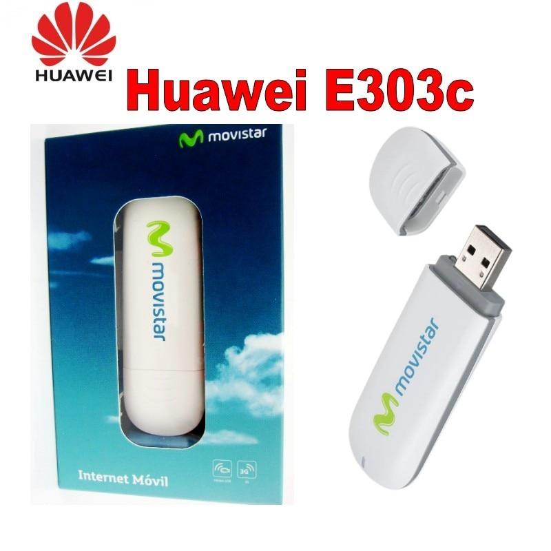 Открыл huawei E303C 3 г usb модем Поддержка 850/1900/2100 мГц