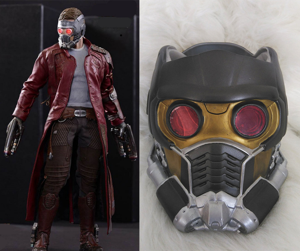 Halloween Jason Mask Cartoon.Dc Movie Cartoon Guardians Of The Galaxy Vol 2 Peter Jason Quill Star Lord Mask Helmet Halloween