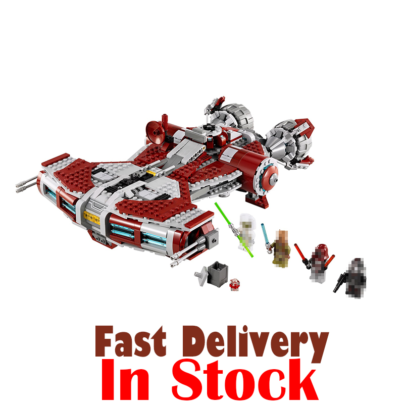 Lepin 05085 Star Set War Series The Jedi Defender Class Cruiser Building Blocks Bricks Educational Toys as Gift With 75025 957pcs space wars jedi defender class cruiser universe starship 05085 model building block toy bricks games compatible with lego
