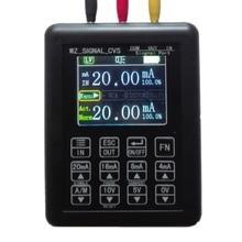 Hohe präzision Einstellbare Strom Spannung Analog Simulator 0 10V 4 20mA Signal Generator Quellen sender kalibrator