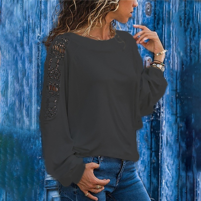 Feminina Blouse Shirt Hollow Out Long Sleeve Fashion Woman Blouses 2019 Womens Tops and Blouses Large Size Ladies Tops Tunic