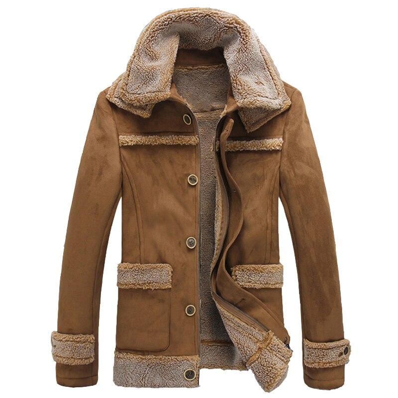 Big Fur Collar Fur Coat New Arrivals 2017 Men Fashion