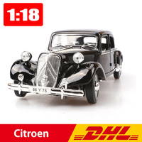 Maisto 1:18 Citroen 15CV 6 Cyl Classic Cars Alloy Static Model Edition Simulation Car Toy Office Decoration Business Boy Gift
