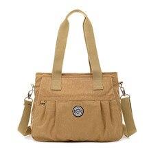 f8b4188d1786 JINQIAOER Для женщин Курьерские сумки новая сумка женский Tote Простой  конструктор Водонепроницаемый Nylon Crossbody сумка большая