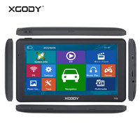 XGODY 7 Inch Gps Navigator Russia Navitel 256M 8GB Capacitive Screen Car Truck Navigation Europe Ship