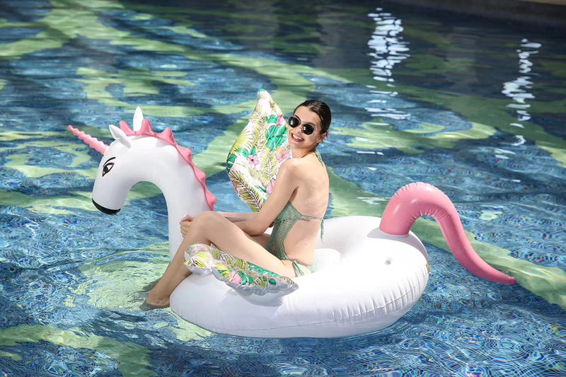 200cm Inflatable Unicorn Swimming Float Pool for Adult