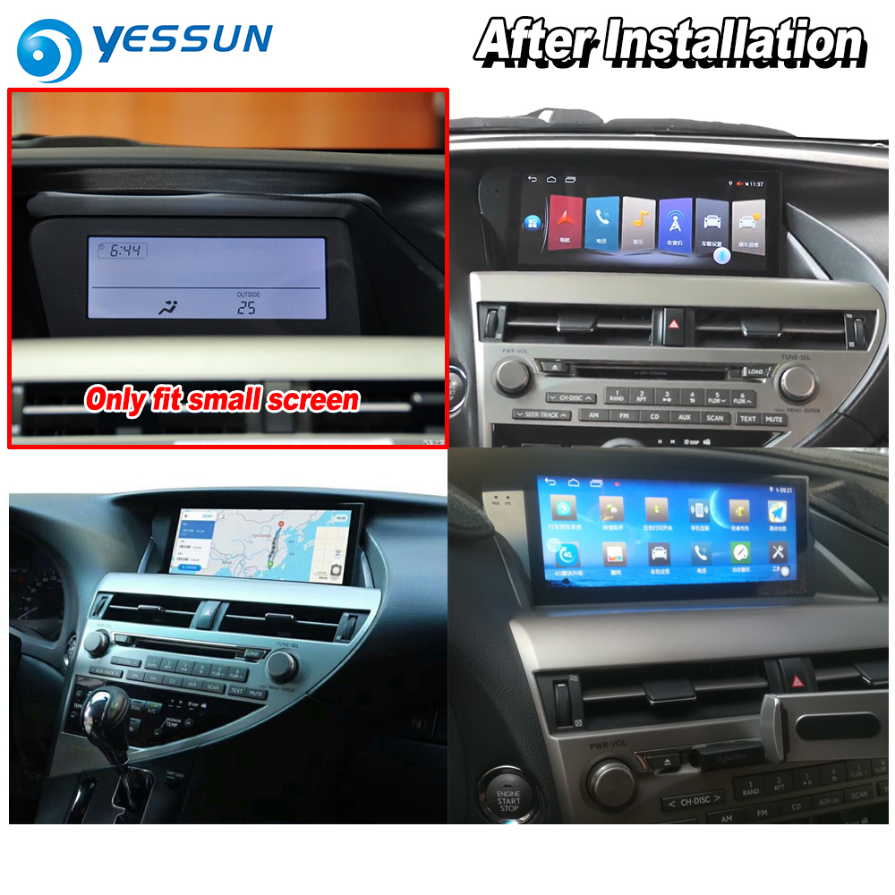 US $969 0 15% OFF|YESSUN For Lexus RX 270 RX 350 2009~2014 Car Android  Carplay GPS Navi maps Navigation Player Radio Stereo no DVD HD Screen-in  Car