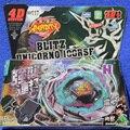1 Шт. Beyblade Металл Fusion 4D Установить БЛИЦ UNICORNO 100RSF + Launcher Игры Дети Игрушки Дети Рождественский Подарок BB117 Lct_034