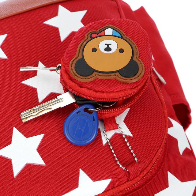 Children's Star Printed Backpack