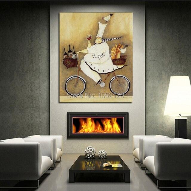 Aliexpress.com: Comprar Pintura al óleo abstracta moderna en la lona ...
