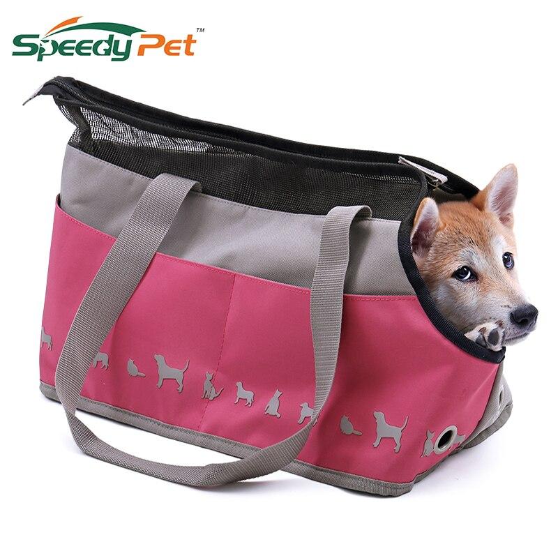 Pet Travel Carrier Bag Airline Approved Sports Pink Handbag