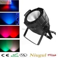 Free Shipping 100W COB Rgbw PAR64 DMX512 LED Stage Laser Light DJ Par RGBW PARTY Disco