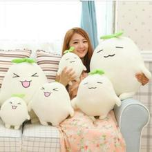 30cm shipping wholesale fruit and vegetables radish Creative Mandala doll plush toy doll pillow girlfriend gifts