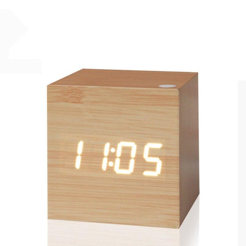 46c8a62969f Relógios de Mesa antigo relógio digital levou relógio Estilo    Personalização