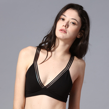 Women Bralette French Style Bra Girls Triangle Cup Lingerie sexy bra Deep V Wireless Underwear Soft Thin Seamless Bras seamless