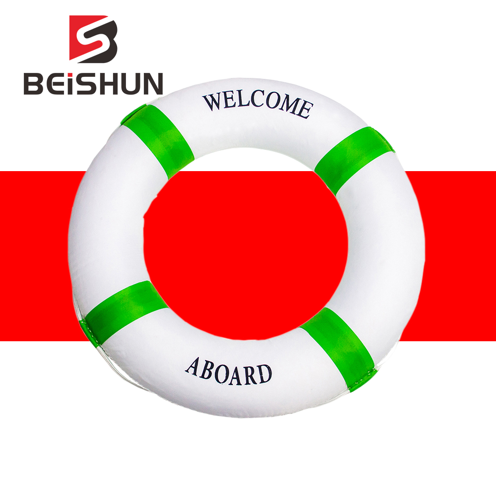 Professional Children Bubble Swimming Buoy Double Thickening Kids Float Ring Life-Saving Inflatable Water Buoy Pool Life Buoy