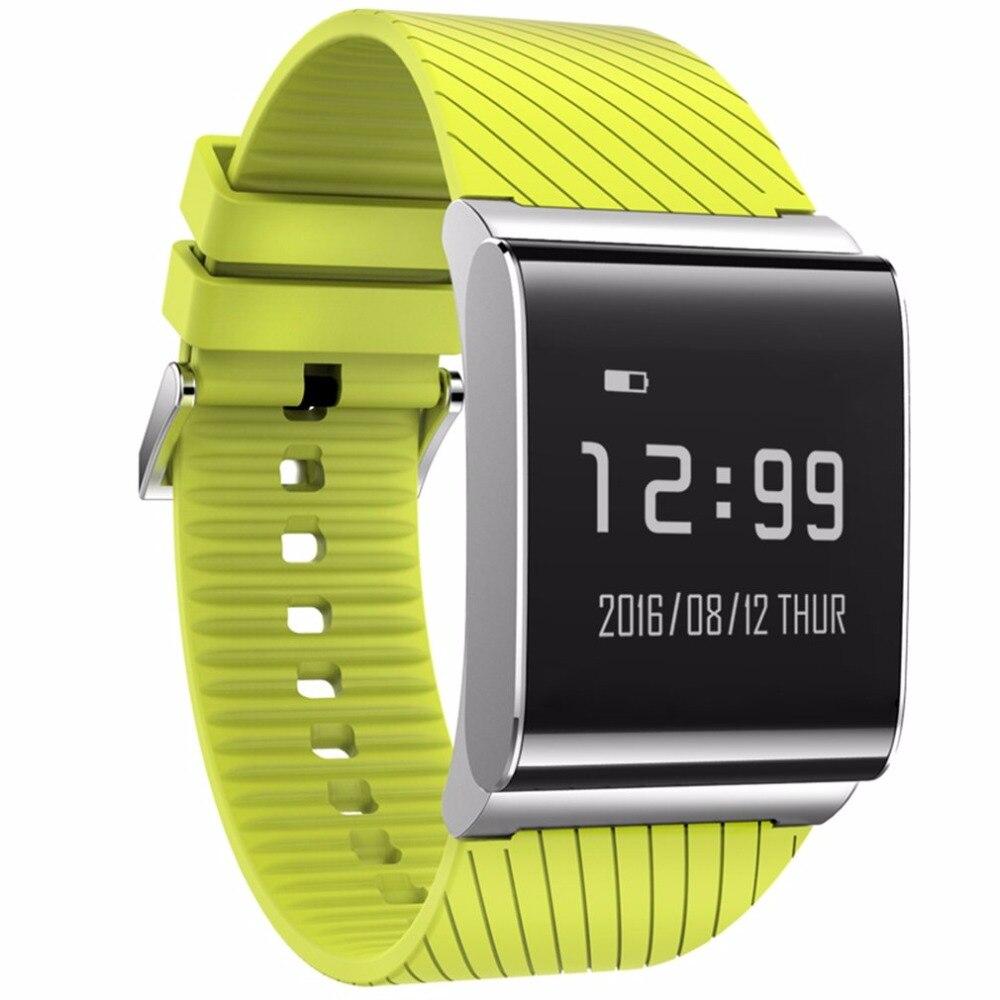 Smart Watch Smart Wrist Blood Oxygen Heart Rate Monitor Waterproof OLED Fitness Tracker Pedometer sport watch for men women