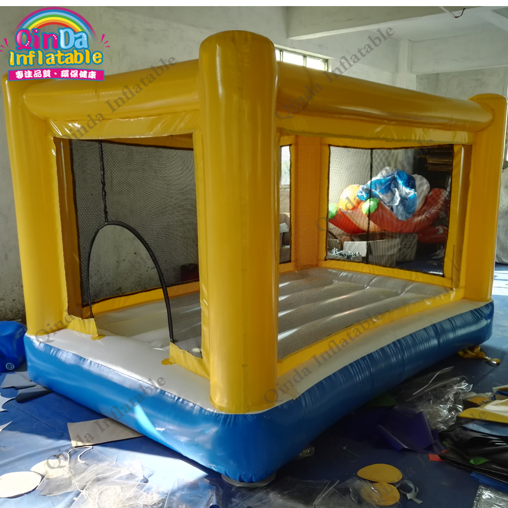 лучшая цена Play House Bouncy Castle,Trampoline Outdoor Jumping Castle Air Bouncer Inflatable Trampoline For Kids