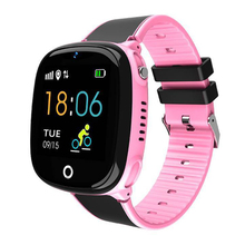 Kids Anti-Lost Gps Tracker Smart Watch Sos Call Safe Wristwatch Waterproof Hw11 Pink best quality kids gps watch with green pink green child gps phone watch kid wristwatch gps tracker smart watchs anti lost