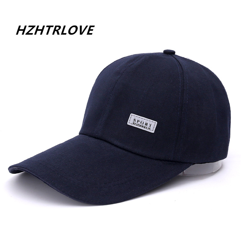 High Quality Long Brim Shade Solid Sports Snapback Cap Men Hat For Fish Hat Fashion Baseball Cap Sun Dad Hat Bone Gorras bkone dad hat winter snow men balaclava hat muslim skullies beanies wool knitted earflaps windproof thermal plush wide brim cap