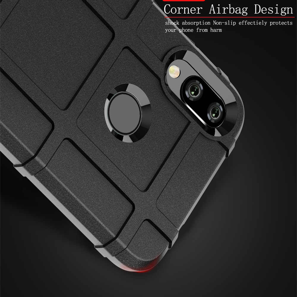 Armor Shockproof Phone Case Fundas voor Xiaomi Redmi Note 7 6 5 Pro Cover Luxe Coque Soft TPU Siliconen Robuuste back Cover