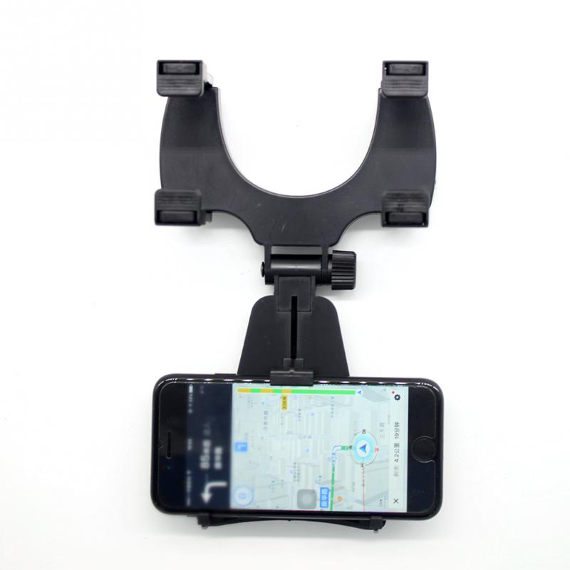 Hot New font b 2017 b font Phone Holders Universal Car Rearview Mirror Mount Holder Stand