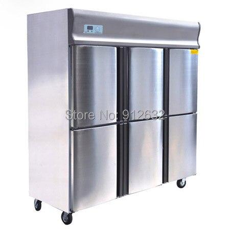 6 Door Vertical Cold Freezer, 6 Door Kitchen Cabinet Showcases