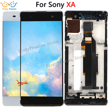 """עבור 5.0 """"Sony Xperia XA LCD תצוגת מסך מגע Digitizer הרכבה F3111 F3113 F3115 Pantalla החלפה עבור SONY XA LCD"""