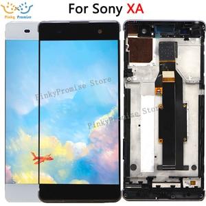 "Image 1 - Voor 5.0 ""Sony Xperia Xa Lcd Touch Screen Digitizer Vergadering F3111 F3113 F3115 Pantalla Vervanging Voor Sony Xa lcd"