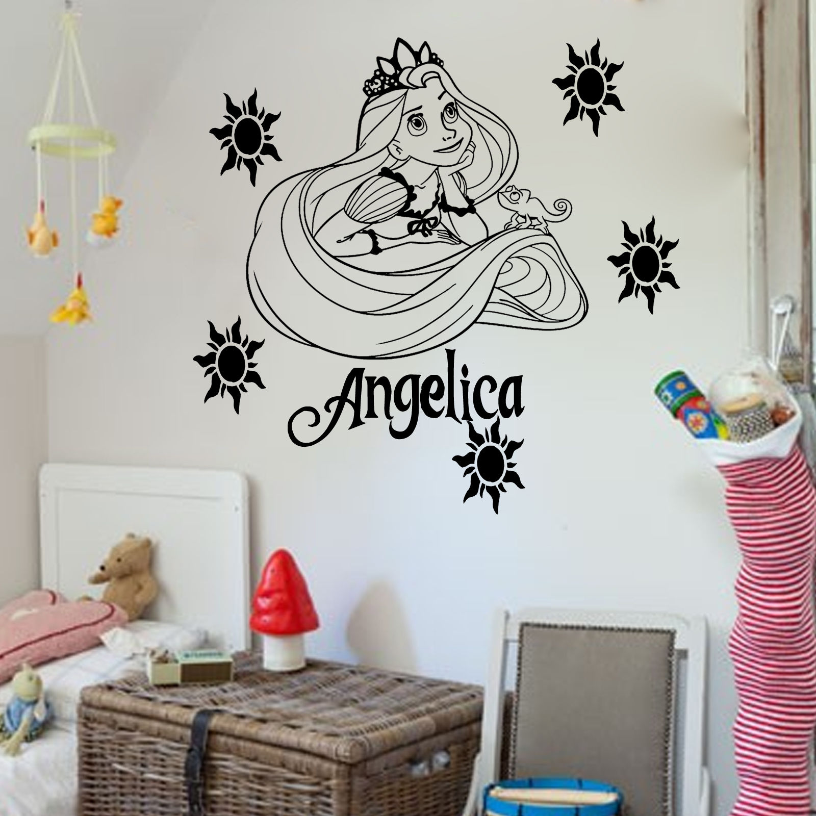 Online Get Cheap Tangled Room Decorations Aliexpresscom