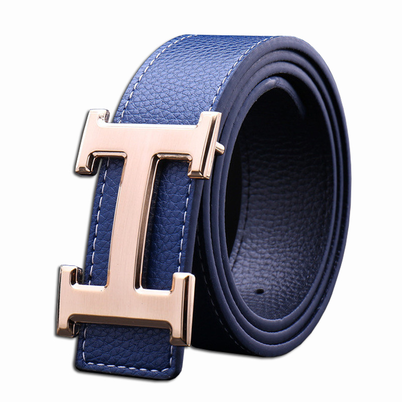 2019 Luxury Brand   Belts   for Men&Women Smooth Buckle Casual All-Match Designer Fashion High Quality Male&female Leather H   Belts