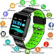 LIGE 2019 New Women Smart Sport Bracelet Men Fitness Tracker Pedometer Blood Pressure Heart Rate Monitor Waterproof Watch