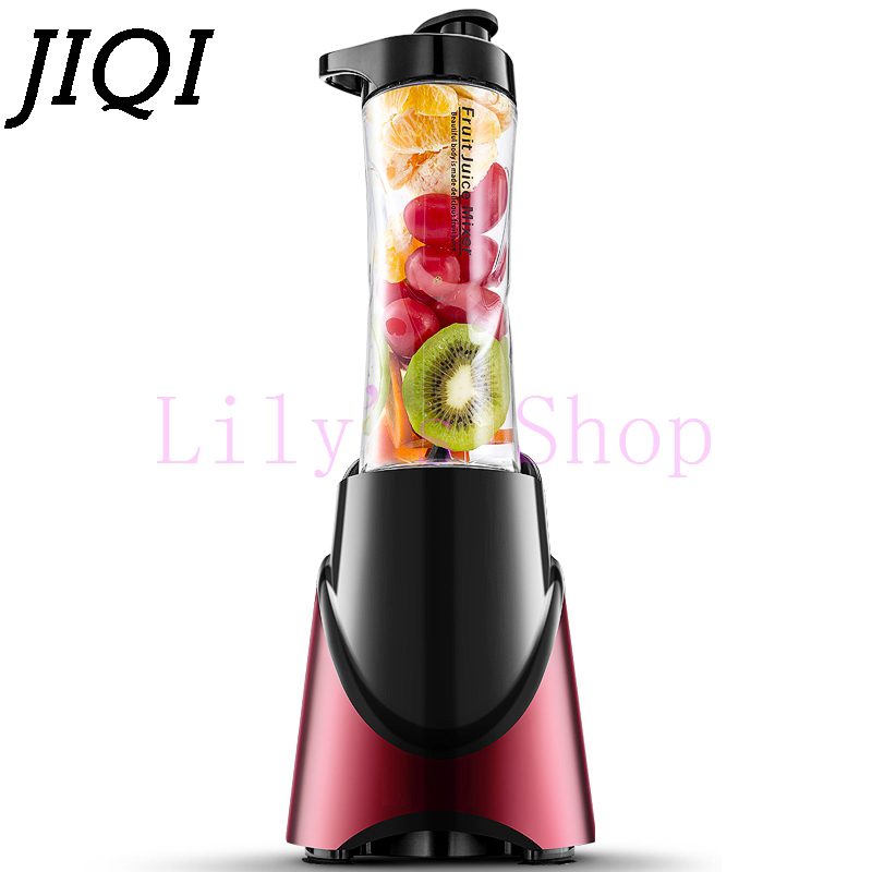 JIQI MINI electric portable juicer fruit vegetable Slow juice machine mixer Extractor Blender Squeezer Pocket Sports Bottle cup rbm 767a 2200w home automatic multi functional fruit and vegetable ice sand bean milk mixer fried fruit juice broken machine 2l