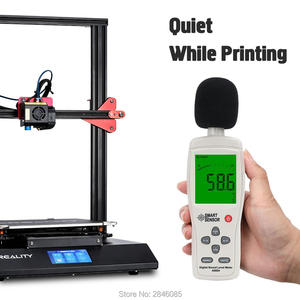 Image 3 - CREALITY 3D CR 10S Pro 자동 레벨링 센서 프린터 4.3 인치 터치 LCD 이력서 인쇄 필라멘트 감지 기능 MeanWell Power