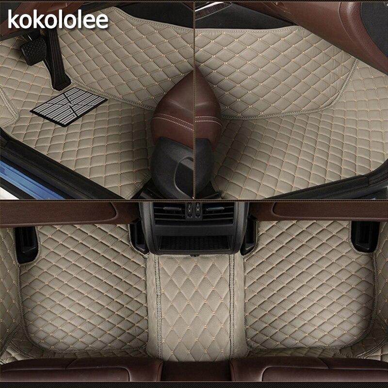 Kokololee Personnalisé de voiture tapis de sol pour Hummer tous les modèles H2 H3 voiture accessoires auto styling