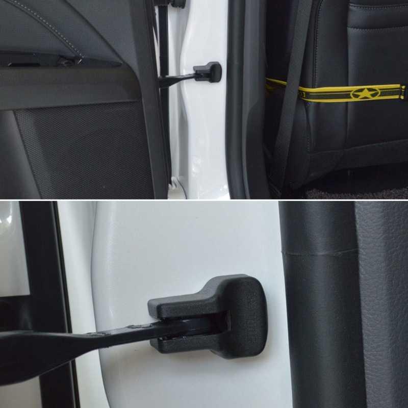 車のドアロック保護カバー起亜リオ K2 魂/現代の Solaris ヴァーナ、自動車の付属品