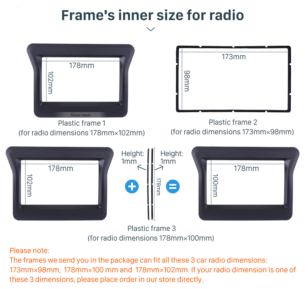 US $22 94 42% OFF|Seicane Double Din Car Stereo Fascia for 2010 Nissan N400  Opel Movano Renault Master III Dash Panel Dash Bezel Kit Cover Trim-in